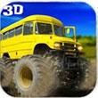 卡车爬坡3D
