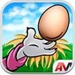 动物接鸡蛋