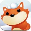 小狐狸滚雪球