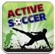 运动的足球