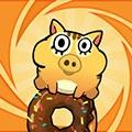 饥饿的小猪甜甜圈版