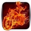 自行车着火