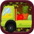 水果和蔬菜怪物卡车