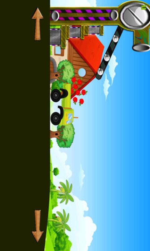 水果和蔬菜怪物卡车截图1