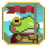 小青蛙旗手