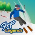 山坡滑雪游戏