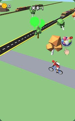 自行车冲冲冲小游戏截图1